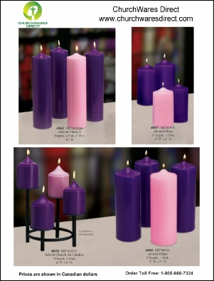 Advent Candles P3