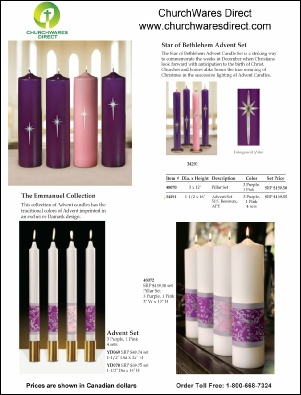 Advent Candles P1